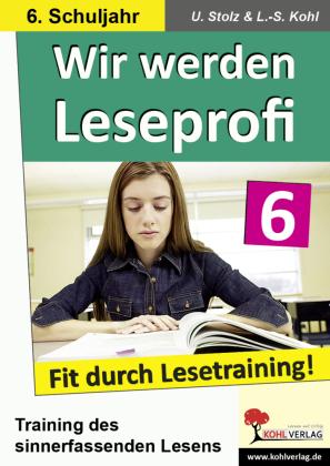 Wir werden Leseprofi / Klasse 6