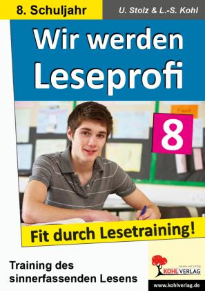 Wir werden Leseprofi / Klasse 8