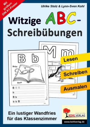 Witzige ABC-Schreibübungen