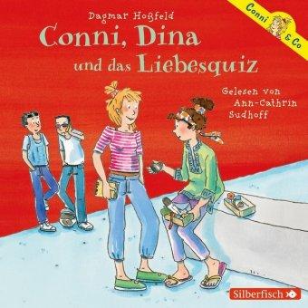 Conni, Dina und das Liebesquiz, 2 Audio-CDs