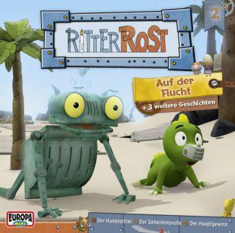 Ritter Rost - Auf der Flucht, 1 Audio-CD