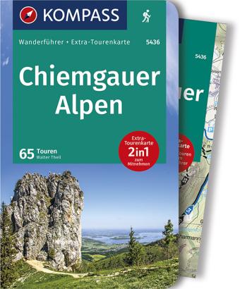 KOMPASS Wanderführer Chiemgauer Alpen, m. 1 Karte