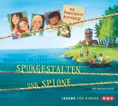 Die Karlsson-Kinder - Spukgestalten und Spione, 2 Audio-CDs