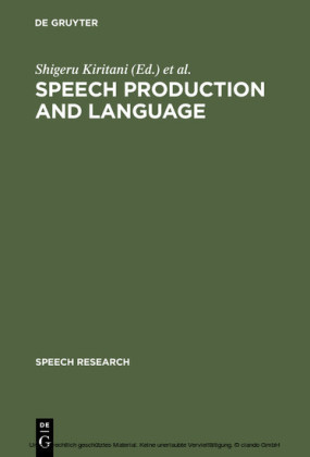 Speech Production and Language