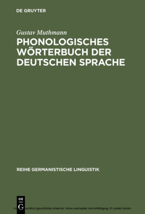 Phonologisches Wörterbuch der deutschen Sprache