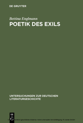 Poetik des Exils