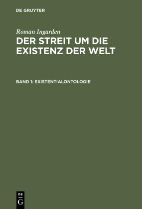 Existentialontologie. Bd.1