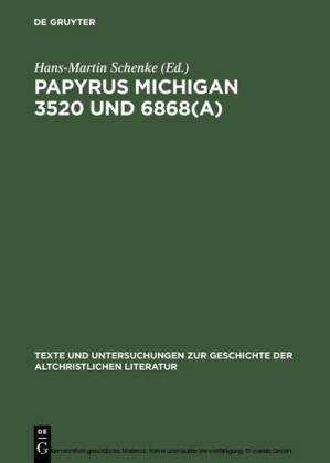 Papyrus Michigan 3520 und 6868(a)