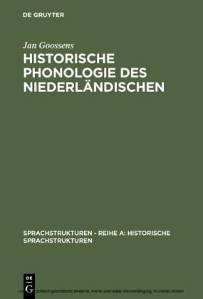 Historische Phonologie des Niederländischen
