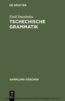Tschechische Grammatik