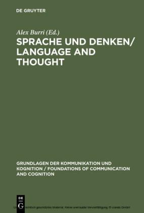 Sprache und Denken / Language and Thought