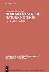 Nemesii Emeseni De natura hominis