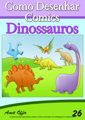 Como Desenhar Comics: Dinossauros