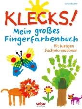 Klecks! Mein großes Fingerfarbenbuch Cover