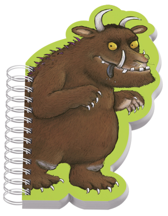 Der Grüffelo, Notizbuch