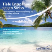 Tiefe Entspannung gegen Stress, Audio-CD Cover