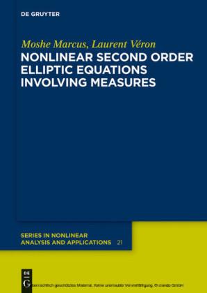 Nonlinear Second Order Elliptic Equations Involving Measures