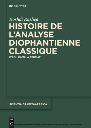 Histoire de l'analyse diophantienne classique