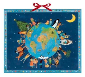 Weihnachten bei den Kindern der Welt