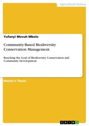Community-Based Biodiversity Conservation Management