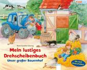 Mein lustiges Drehscheiben-Buch - Unser großer Bauernhof Cover