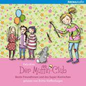 Der Muffin-Club - Beste Freundinnen und das Super-Kaninchen, Audio-CDs Cover