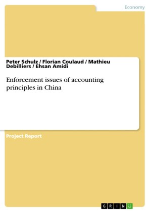 Enforcement issues of accounting principles in China