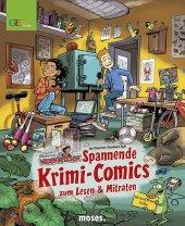 Redaktion Wadenbeißer - Spannende Krimi-Comics zum Lesen und Mitraten Cover