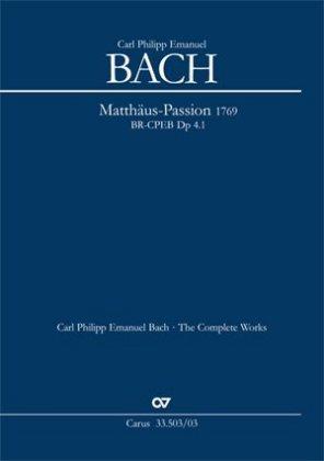 Passions-Musik nach dem Evangelisten Matthäus (Klavierauszug)