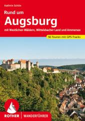 Rother Wanderführer Rund um Augsburg Cover