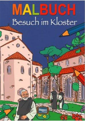 Besuch im Kloster, Malbuch