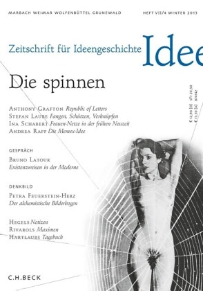 Zeitschrift für Ideengeschichte Heft VII/4 Winter 2013