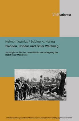 Emotion, Habitus und Erster Weltkrieg