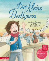 Der kleine Beethoven, m. Audio-CD Cover