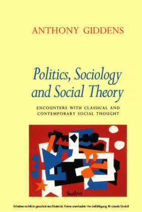 Politics, Sociology and Social Theory