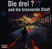 Die drei ??? und die brennende Stadt, 1 Audio-CD Cover