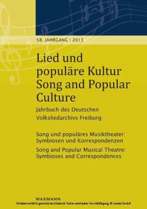 Lied und populäre Kultur - Song and Popular Culture 58 (2013)