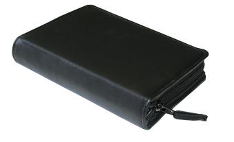 Gotteslobhülle, für die Großdruckausgabe, Kunstleder schwarz, mit Reißverschluss