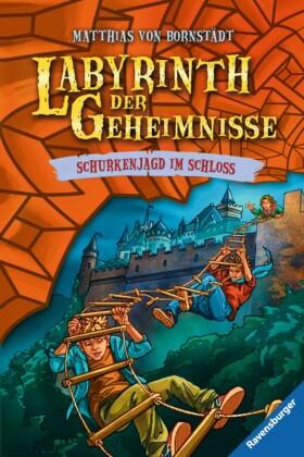Labyrinth der Geheimnisse, Band 5: Schurkenjagd im Schloss