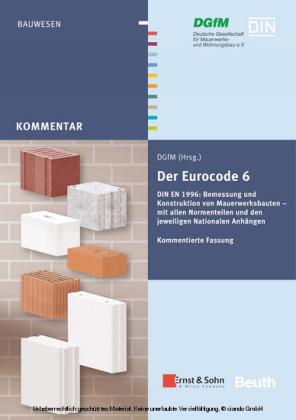 Der Eurocode 6 für Deutschland DIN EN 1996