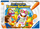 Der hungrige Zahlen-Roboter (Kinderspiel) Cover