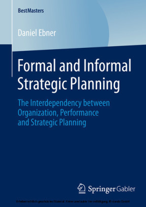 Formal and Informal Strategic Planning