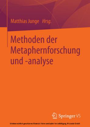Methoden der Metaphernforschung und -analyse