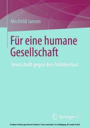 Für eine humane Gesellschaft