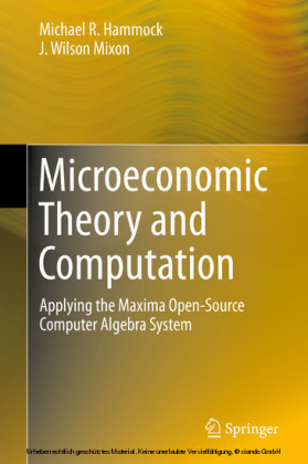 Microeconomic Theory and Computation
