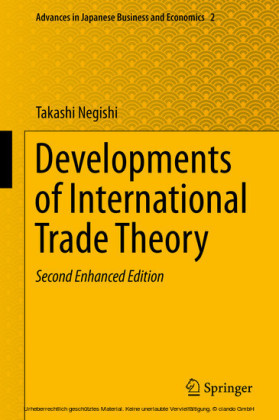 Developments of International Trade Theory