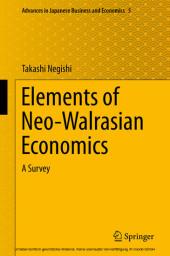 Elements of Neo-Walrasian Economics