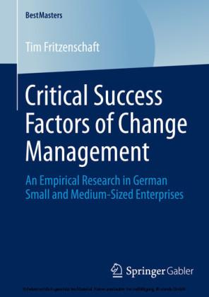 Critical Success Factors of Change Management
