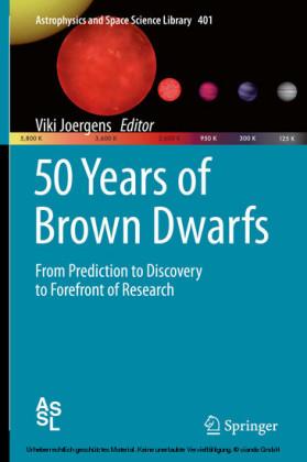 50 Years of Brown Dwarfs