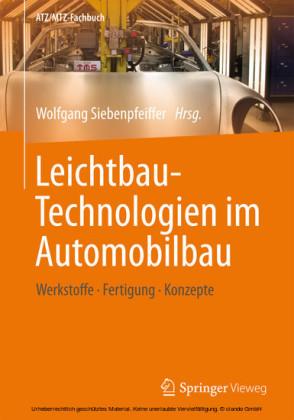 Leichtbau-Technologien im Automobilbau